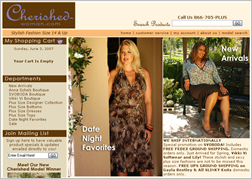 Cherished Woman Website
